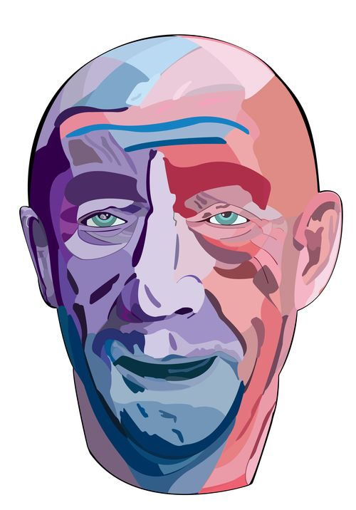 Vector illustration of J.K. Simmons